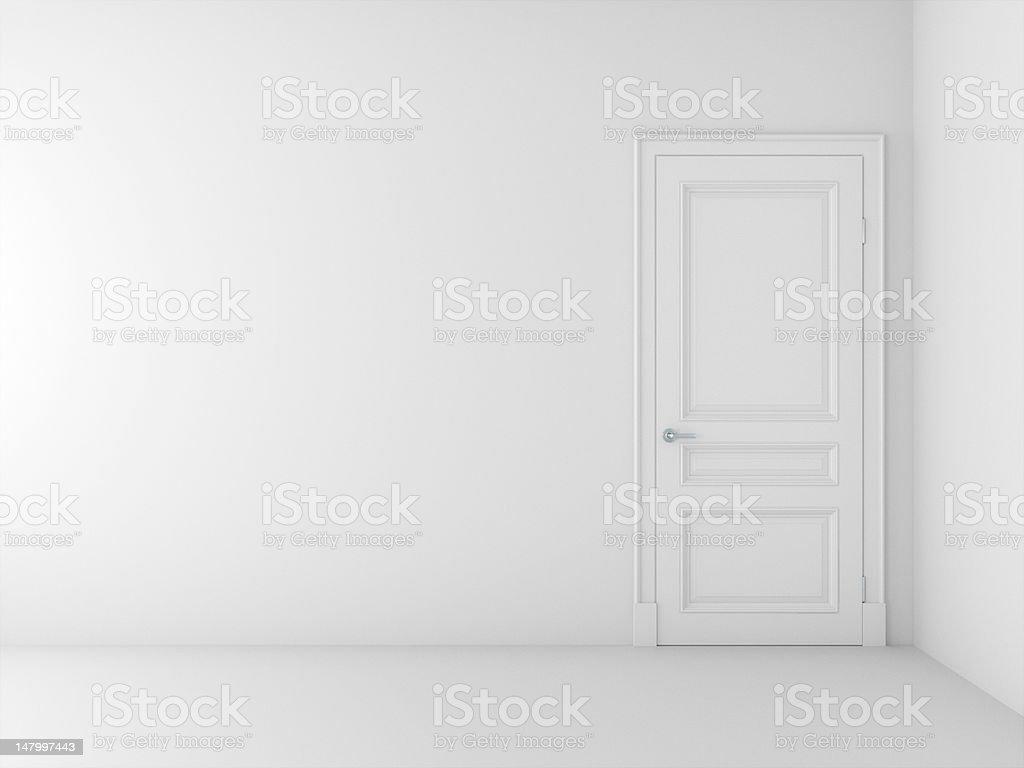 new empty room stock photo