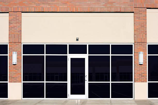 novo vazio loja - fachada - fotografias e filmes do acervo
