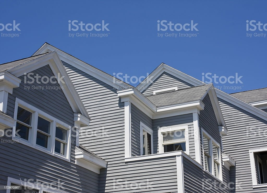 New England Architecture stock photo