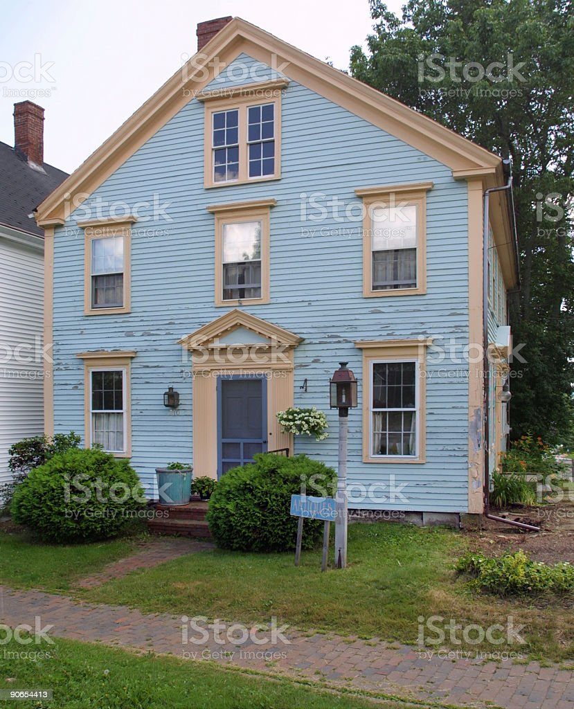 New England Architecture stock photo