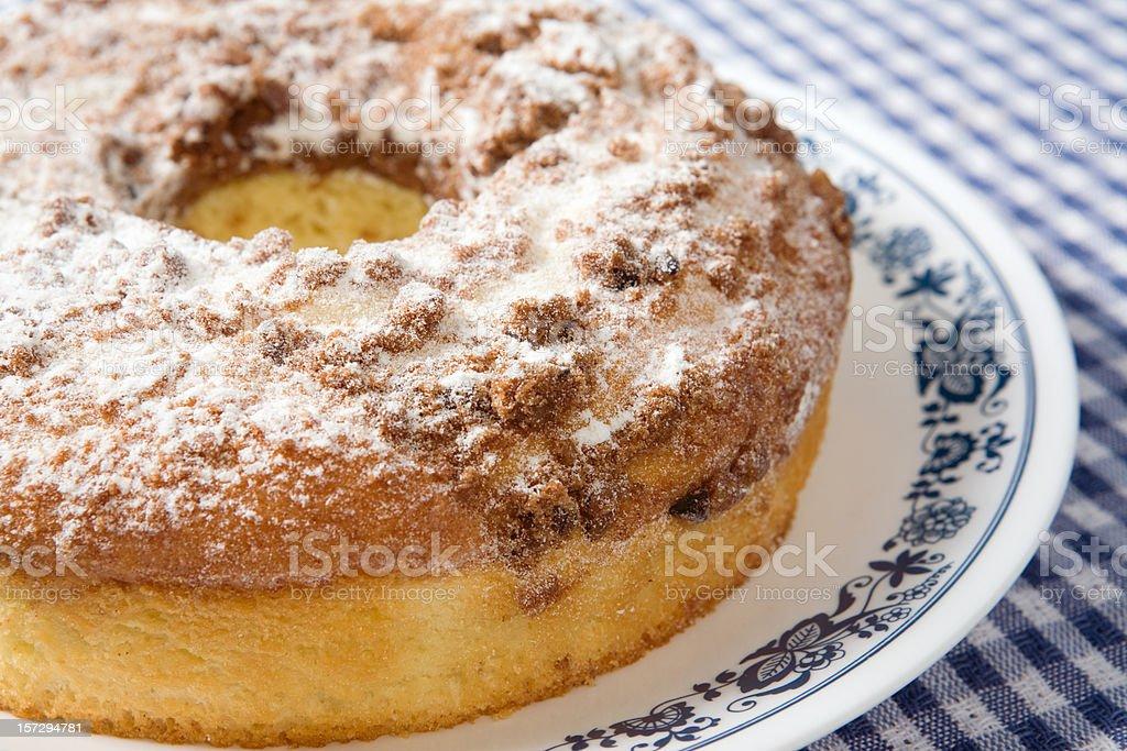 Nova Inglaterra pedaços de bolo de café - foto de acervo