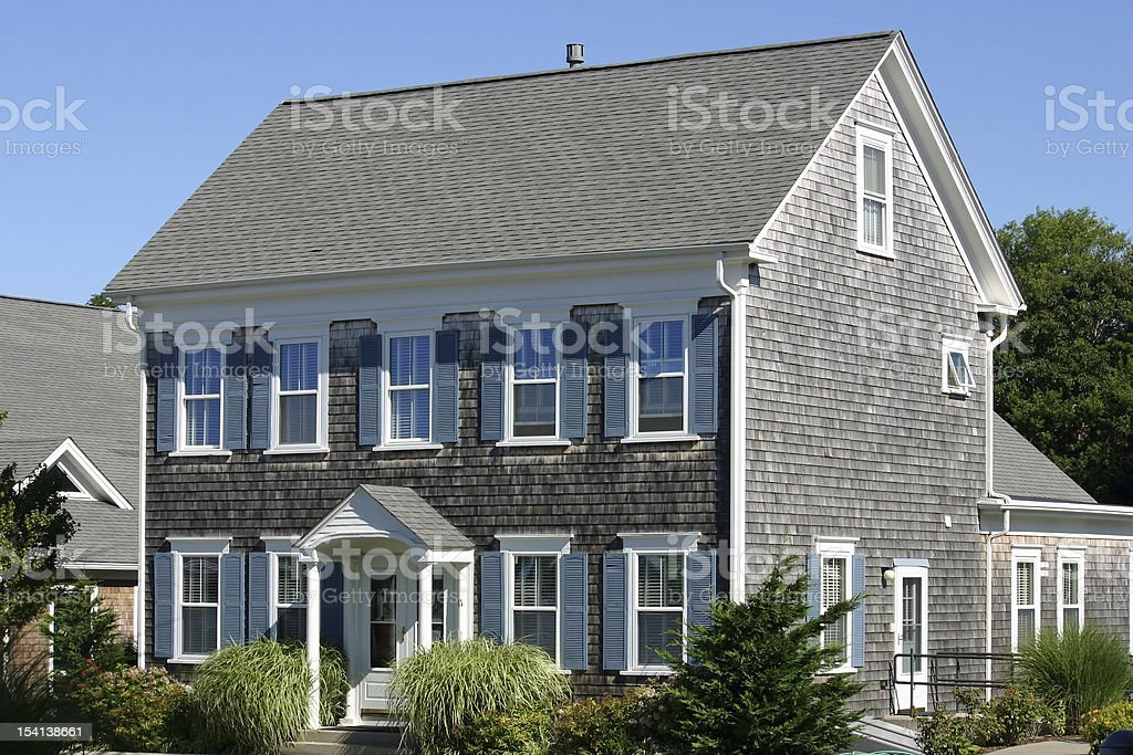 New England House royalty-free stock photo
