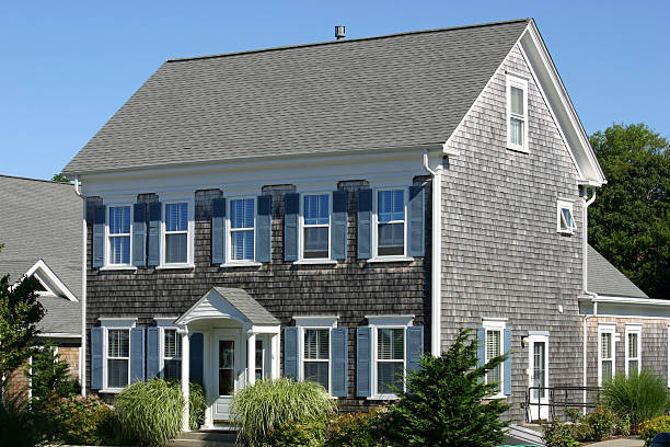 New England House stock photo