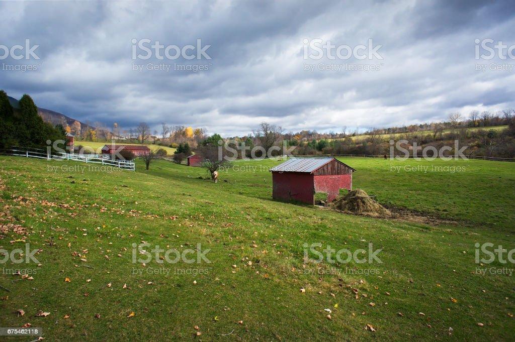 New England en automne photo libre de droits