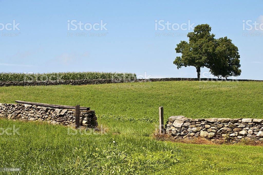 New England Pastoral royalty-free stock photo