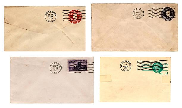 L'histoire de la Nouvelle-Angleterre Code postal (enveloppes - Photo