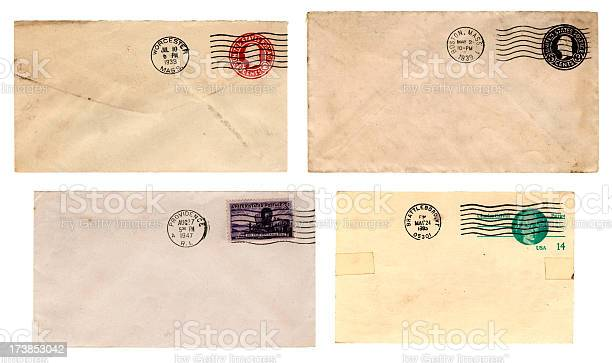 New England postal history (Envelopes)