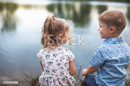 istock New Era With Happy Kids And People. Happy Society. Community 1005952858