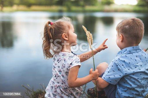 istock New Era With Happy Kids And People. Happy Society. Community 1005952884