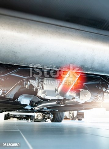 496485590istockphoto New exhaust under the car 961808582