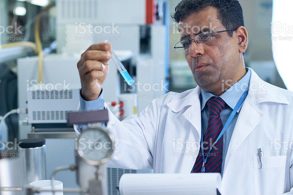 New experiment stock photo
