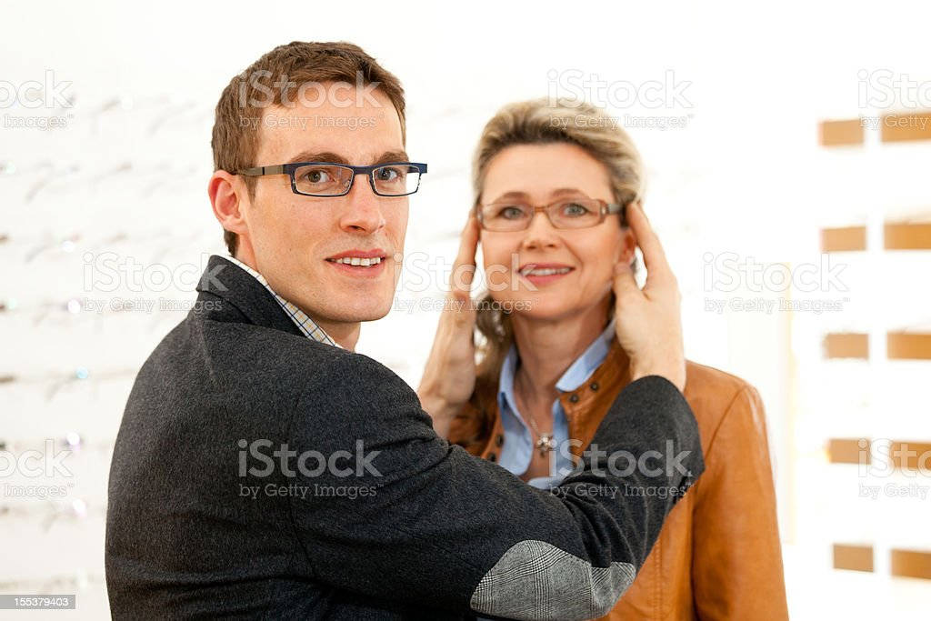 new eyeglasses royalty-free stock photo