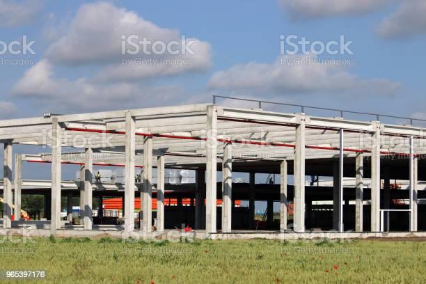 새로운 공장 건설 사이트 산업 강철에 대한 스톡 사진 및 기타 이미지