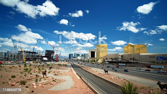 istock New football stadium under construction in Las Vegas 1149340776
