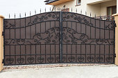 New forged metal double gates