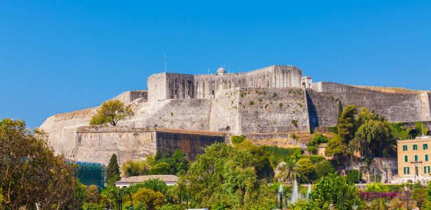 New Fortress, Corfu stock photo