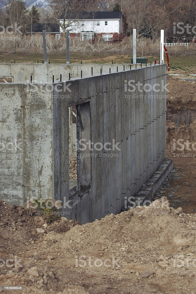 New Foundation Vertical royalty-free stock photo