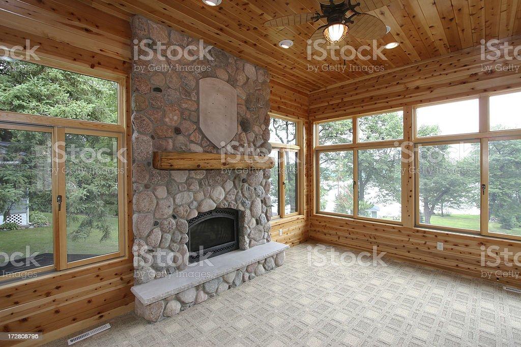 New four season porch. royalty-free stock photo