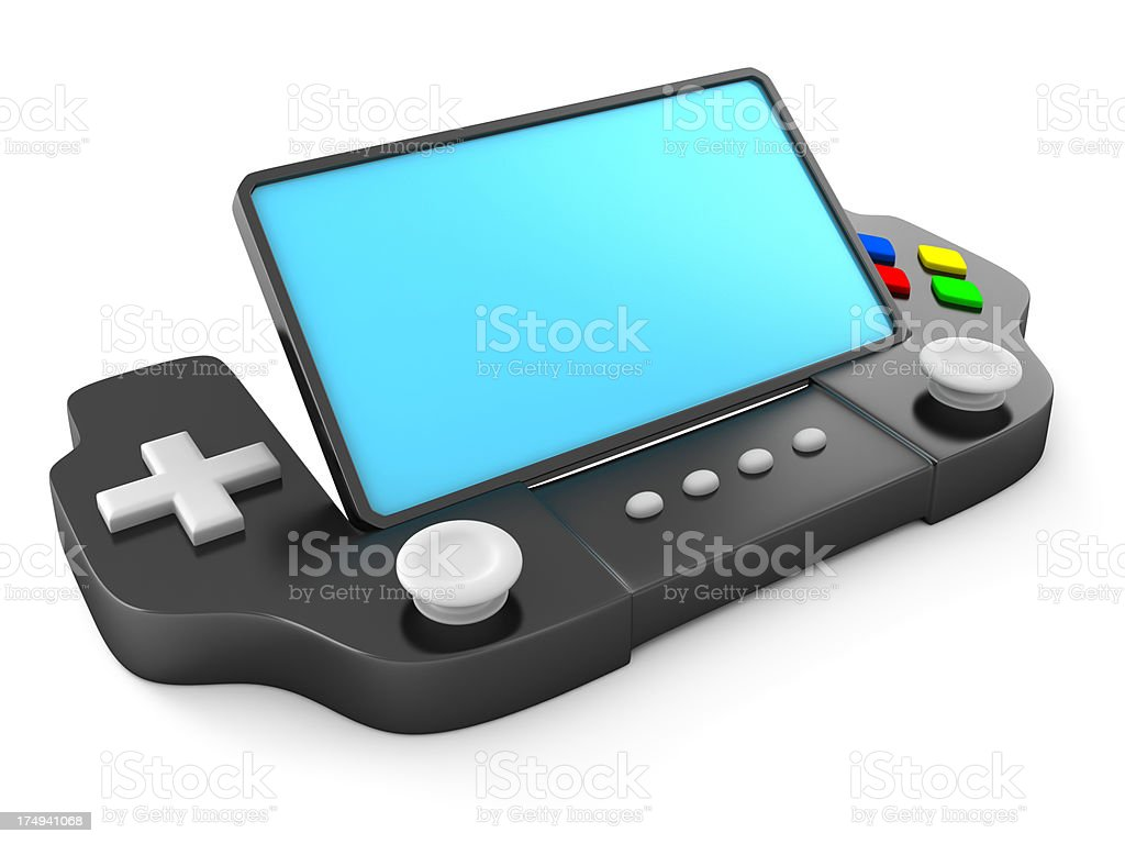 New game console concept royalty-free stock photo