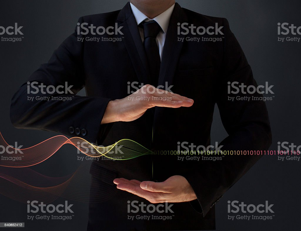 New Generation Web Technology stock photo