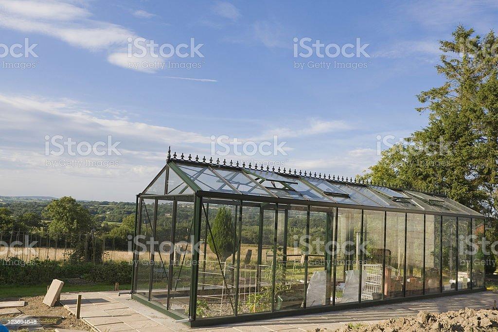New Greenhouse royalty-free stock photo