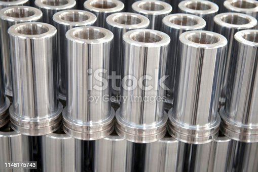 istock New Group of Metal Tubes 1148175743