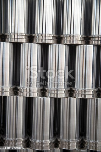 istock New Group of Metal Tubes 1148175896