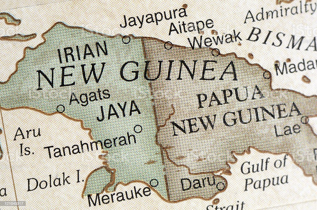 New Guinea royalty-free stock photo