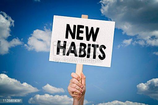 istock New habits 1125859091