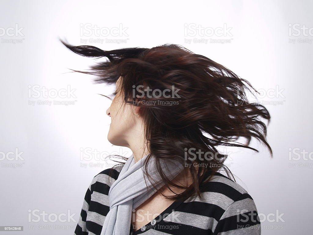 Nouvelle coiffure style photo libre de droits