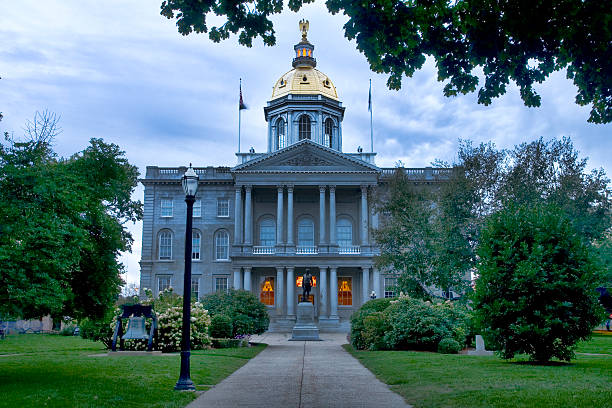 new hampshire capitol building - new hampshire stockfoto's en -beelden