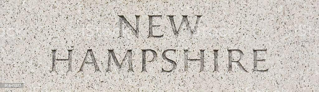 New Hampshire royalty-free stock photo