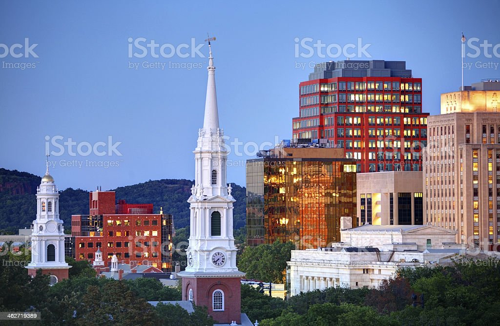 New Haven, Connecticut stock photo