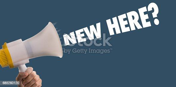 istock New Here? 685260120