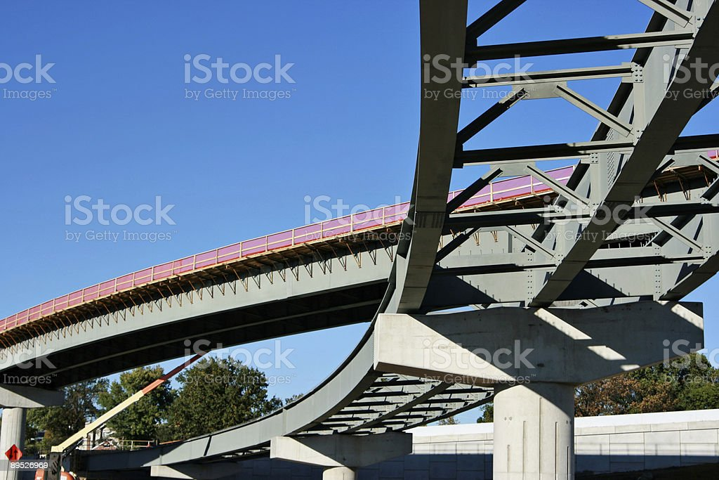 New Highway Construction royalty-free stock photo