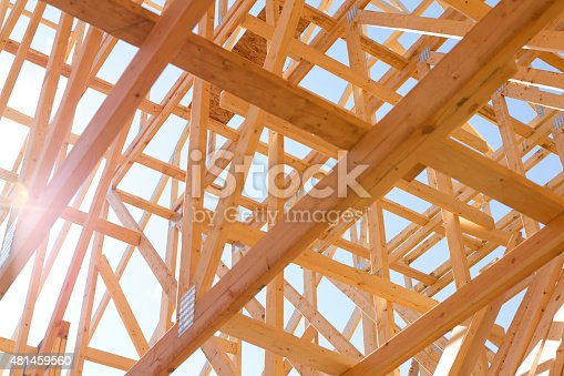 istock New home building in progress. 481459560