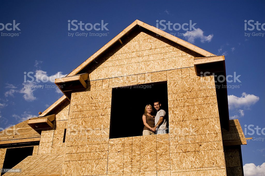 New Home Buyers royalty-free stock photo