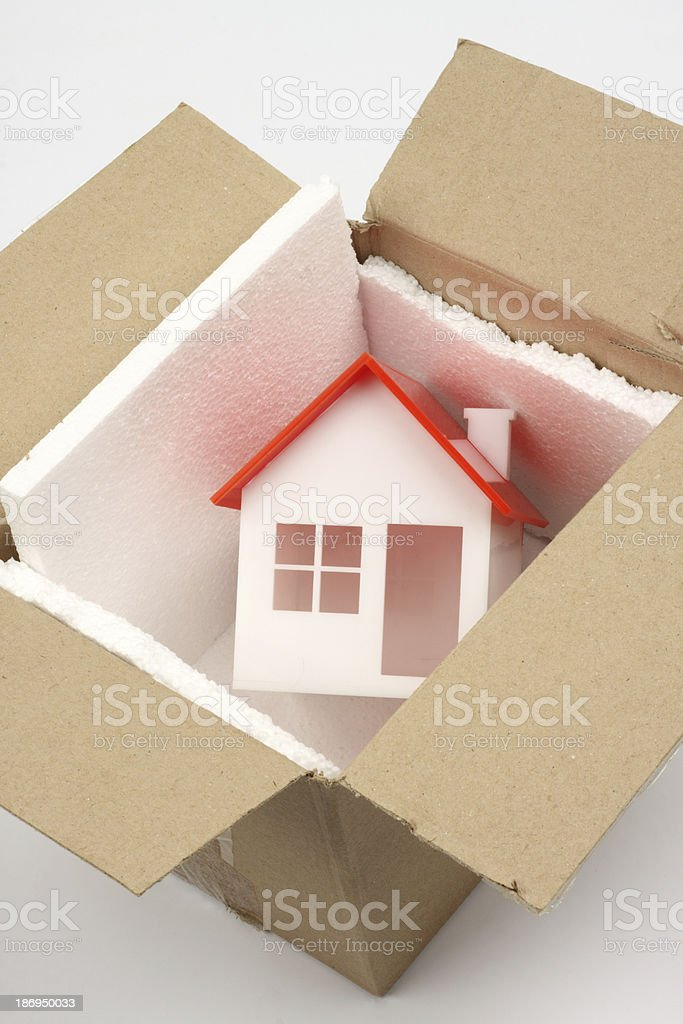 new home concept stock photo