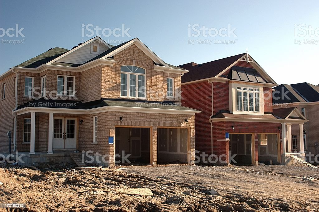 New Home Construction - many others available royalty-free stock photo