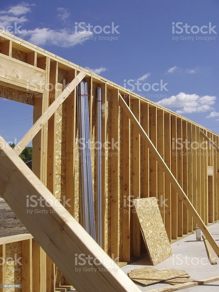 New Home Development stock photo