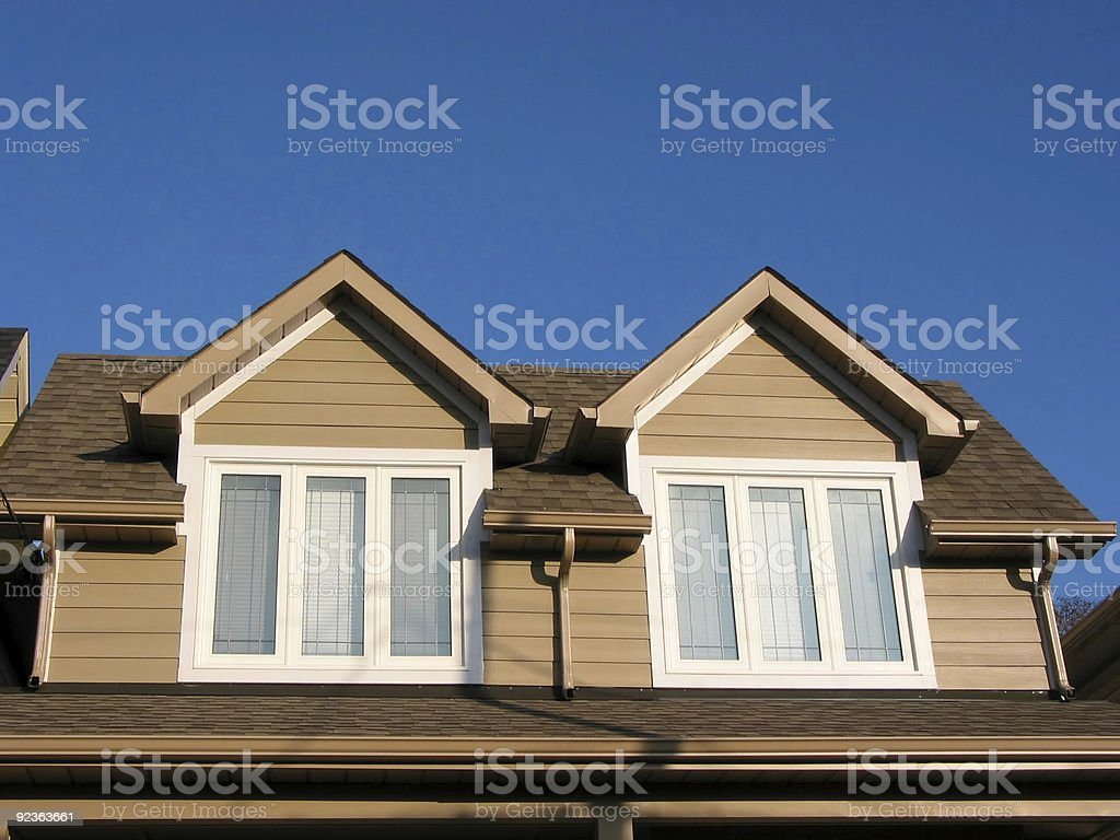 New home fragment royalty-free stock photo