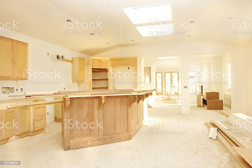 New Home Interior royalty-free stock photo