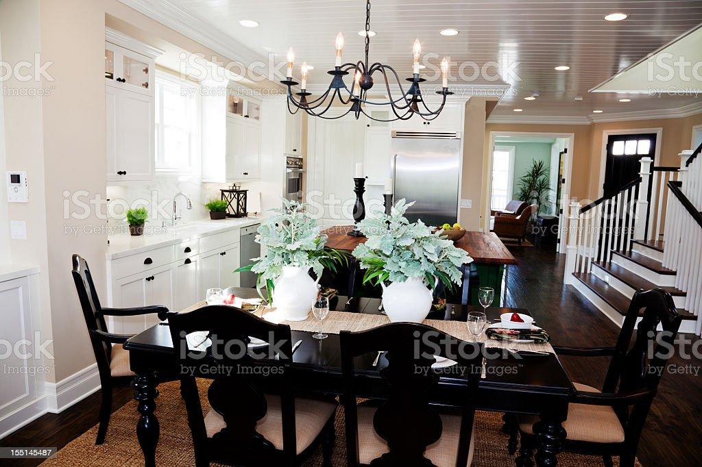 New Home Luxury Kitchen stock photo