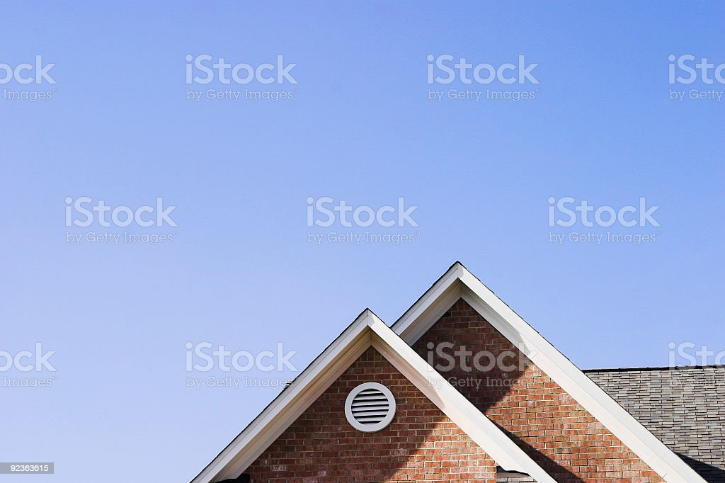 New Home Perspective stock photo