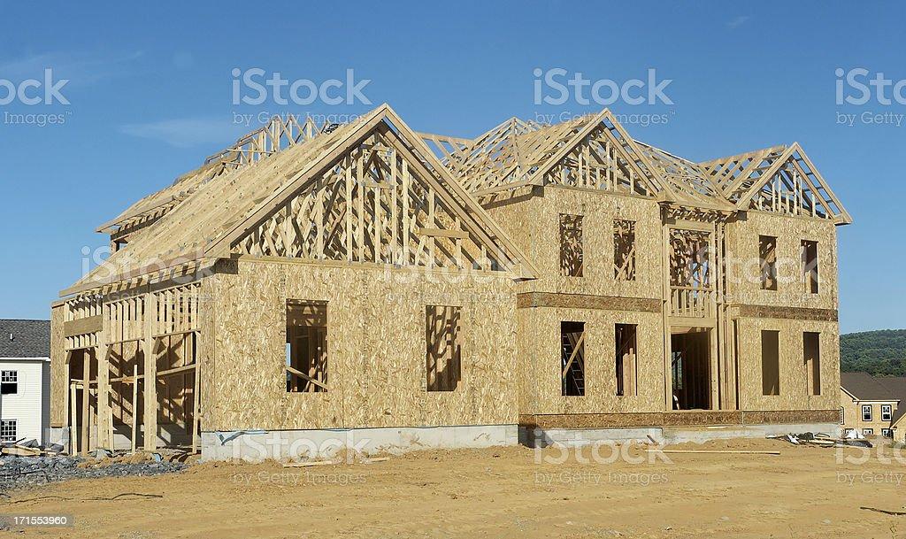 New home stock photo