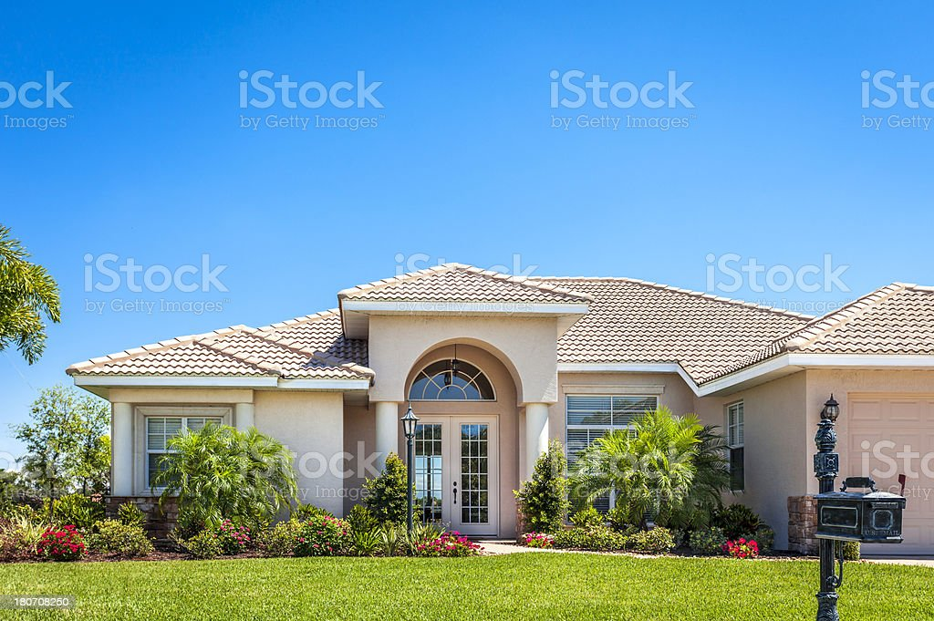 New Home stock photo