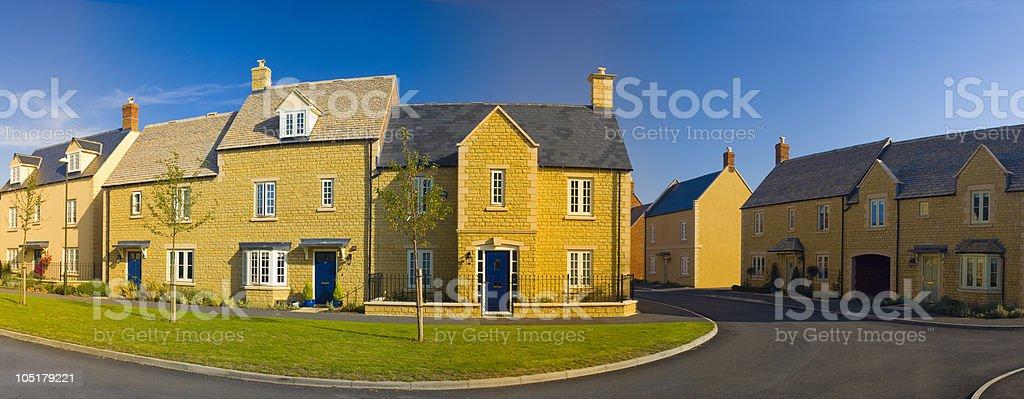 New Homes. royalty-free stock photo