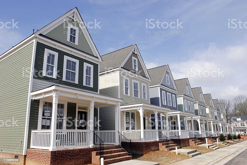 New Homes royalty-free stock photo