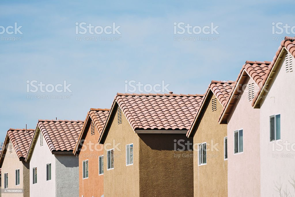 New Homes stock photo