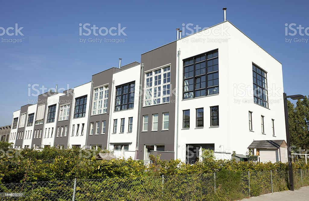 New Homes - Townhouses royalty-free stock photo